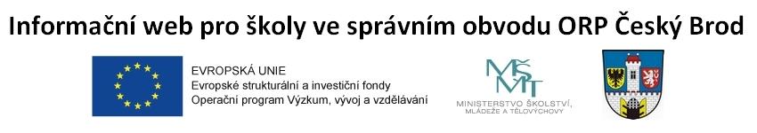 Informační web pro školy ve správním obvodu ORP Český Brod